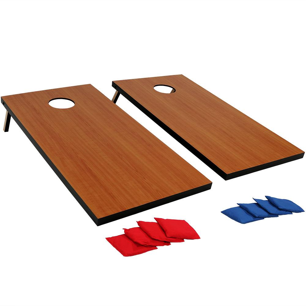 2 ft. x 4 ft. Cornhole Bean Bag Toss Game Set