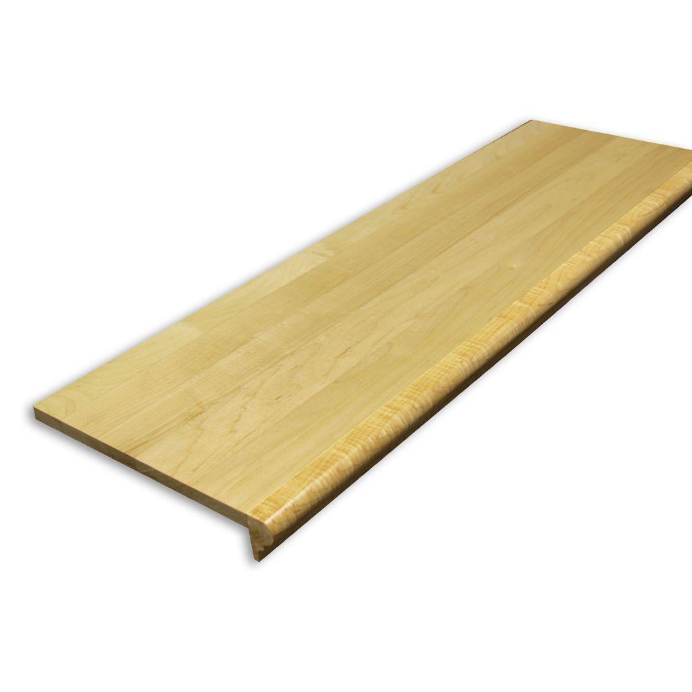 Stairtek .625 in. x 11.5 in. x 42 in. Prefinished Maple Retread