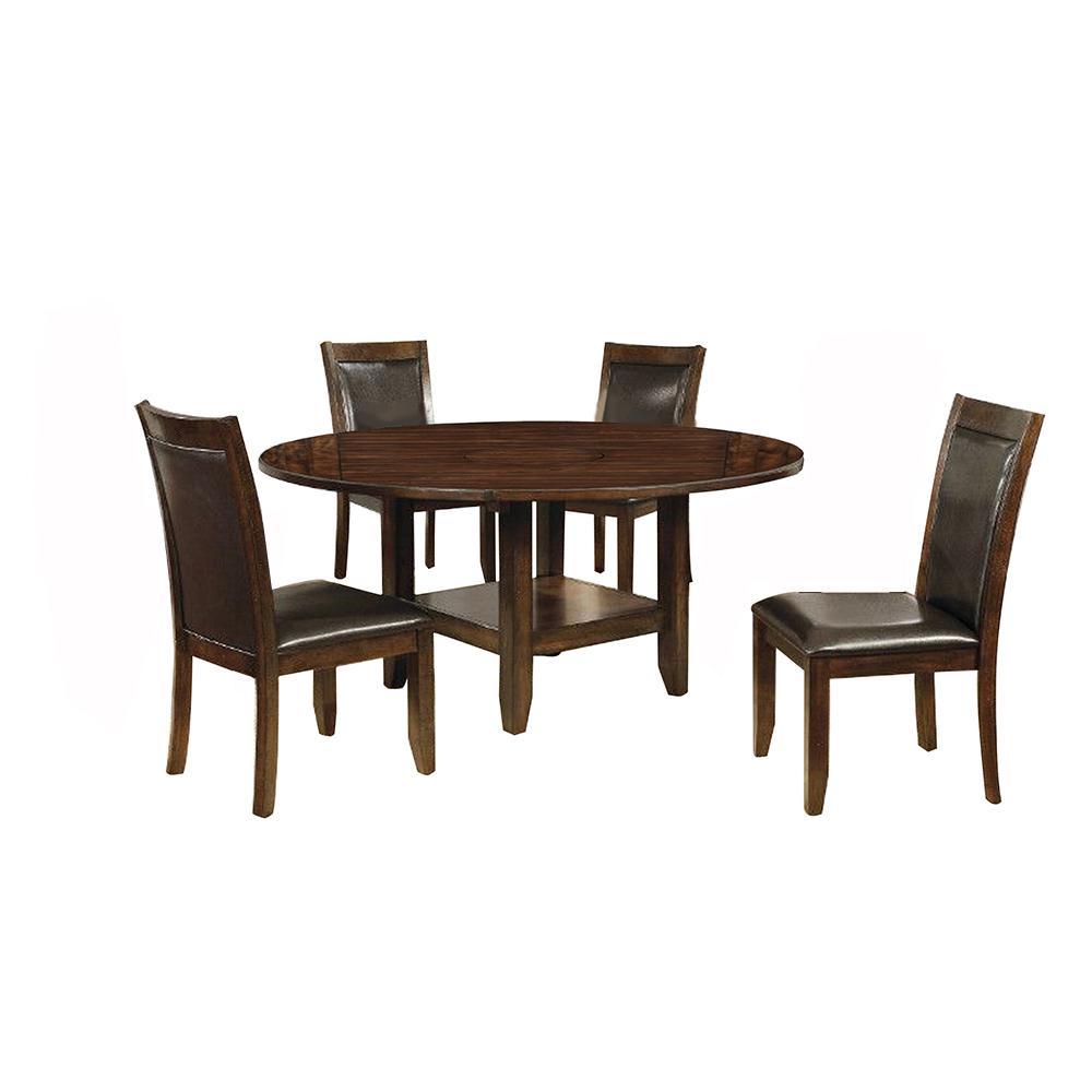 Mae Brown Cherry Table Set