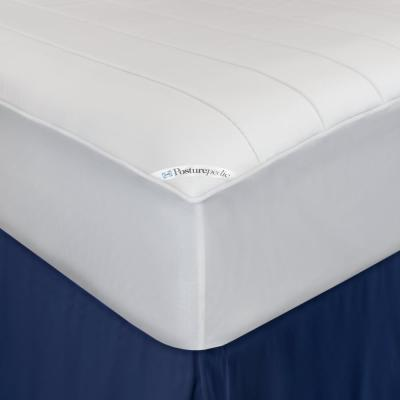 15 in. Twin Polyester Mattress Pad