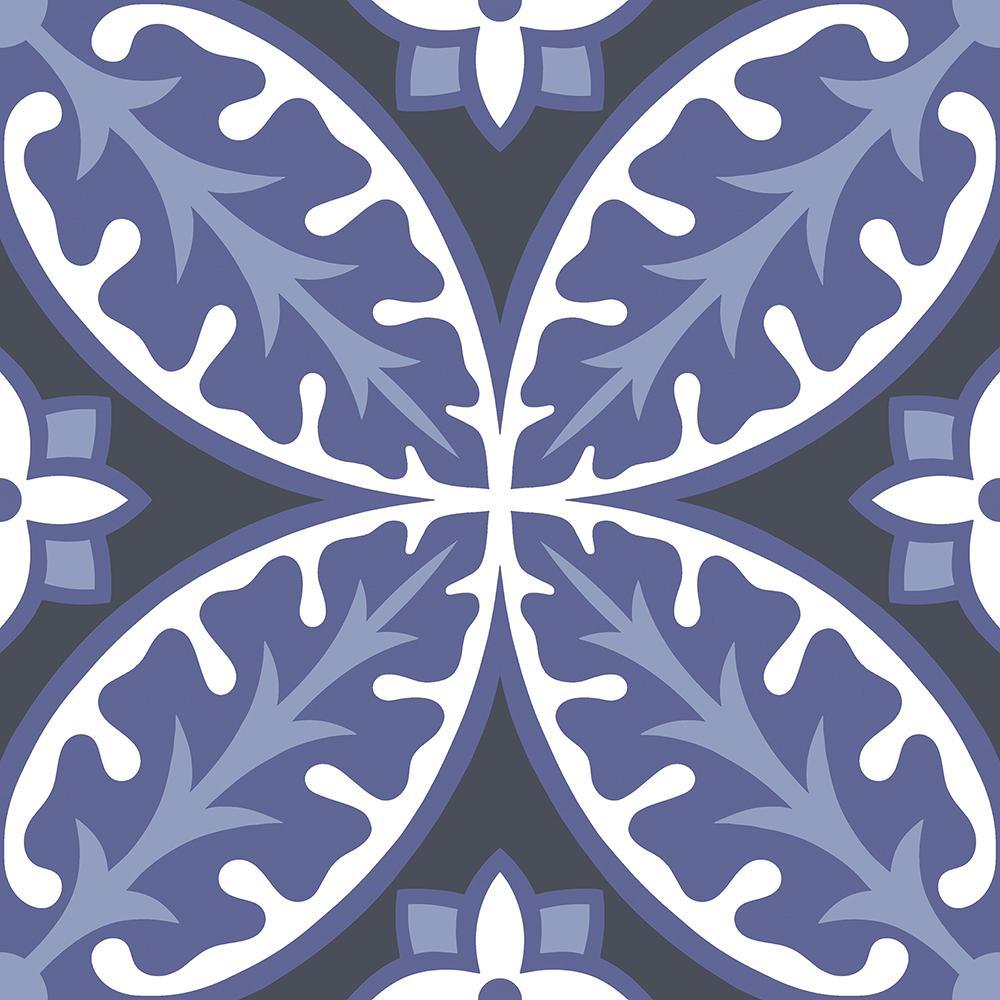 Capri 12 in. W x 12 in. L Peel and Stick Floor Vinyl Tiles (20 Tiles, 20 sq. ft. case)