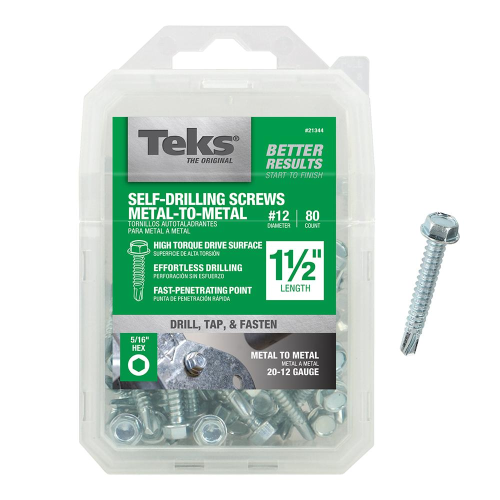 Hex Washer Head #3 Drill Point Pack of 1250 Pack of 1250 Small Parts 1424KW Hex Drive 1//4-14 Thread Size 1-1//2 Length Steel Self-Drilling Screw 1-1//2 Length 1//4-14 Thread Size Zinc Plated Finish