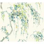 Watercolors Lovebirds Strippable Wallpaper (Covers 60.75 sq. ft.)