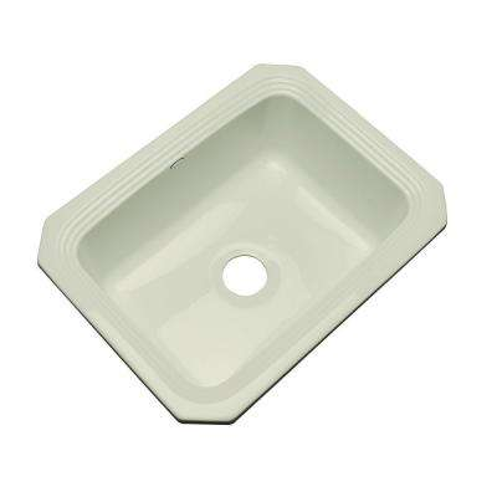 Rochester Undermount Acrylic 25 in. Single Bowl Kitchen Sink in Jersey Cream