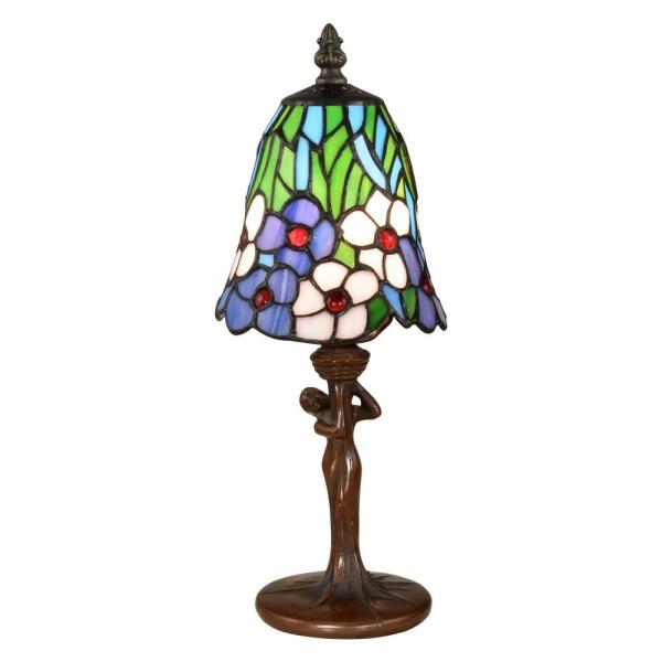 Brescia 14 in. Antique Bronze Metal Accent Lamp