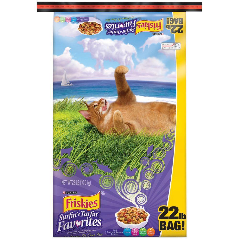 Surf N Turf Cat Food