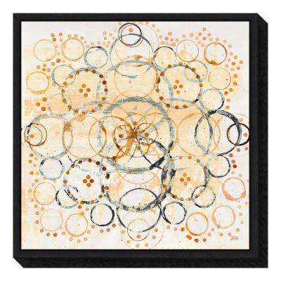 """Henna Mandala II Crop"" by Melissa Averinos Framed Canvas Wall Art"
