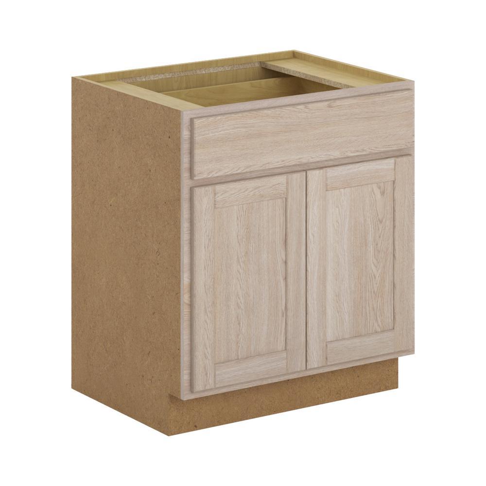 Home Depot Pine Kitchen Cabinets: Hampton Bay Stratford Assembled 30x34.5x24 In. Base