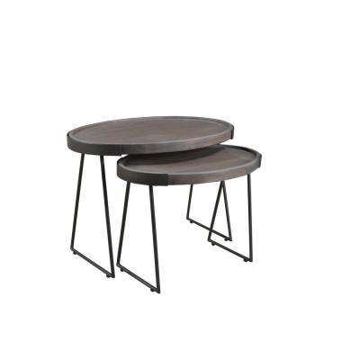 Imagen Collection Nest Gray Table Set