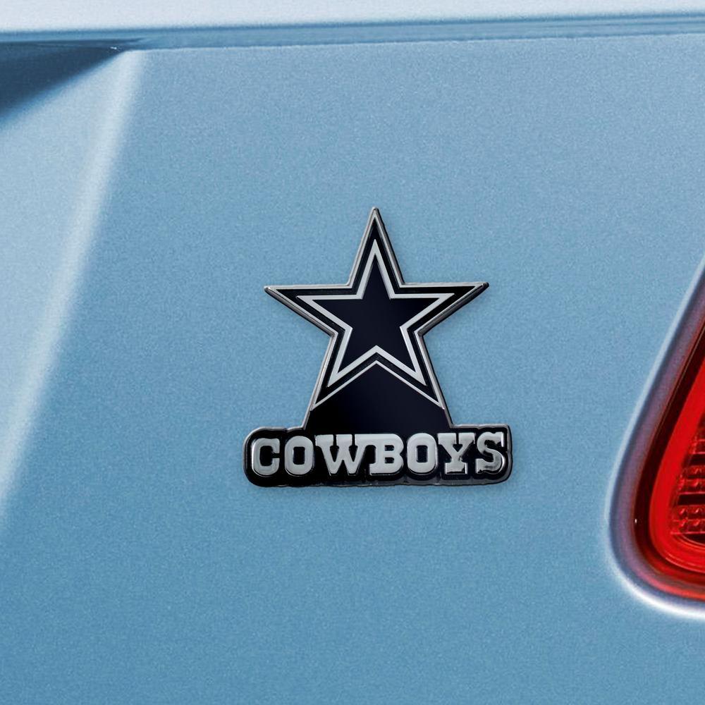 FANMATS Dallas Cowboys 3D Metal Emblem