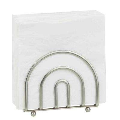 Satin Nickel Napkin Holder