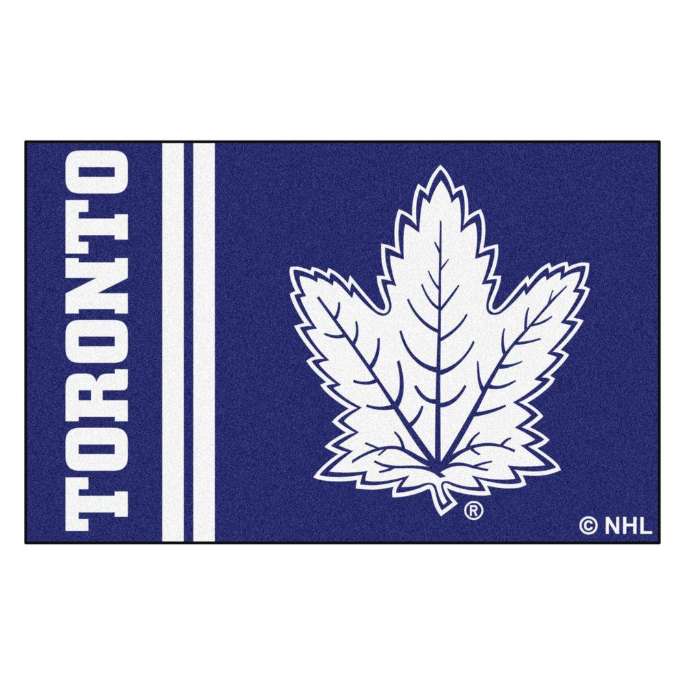 NHL - Toronto Maple Leafs Blue 1 ft. 7 in. x 2 ft. 6 in. Indoor Accent Rug
