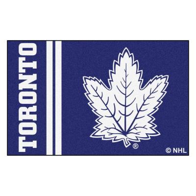 NHL - Toronto Maple Leafs Blue 2 ft. x 3 ft. Indoor Area Rug
