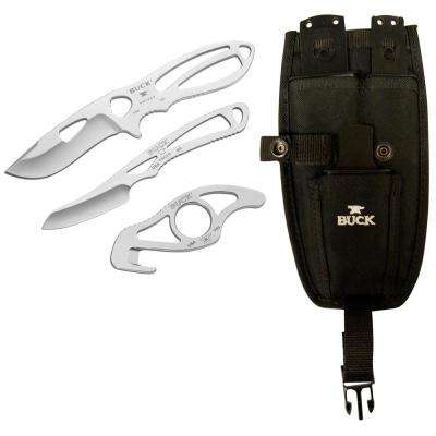 Buck PakLite Field Master Knife Kit in Black (3-Piece)