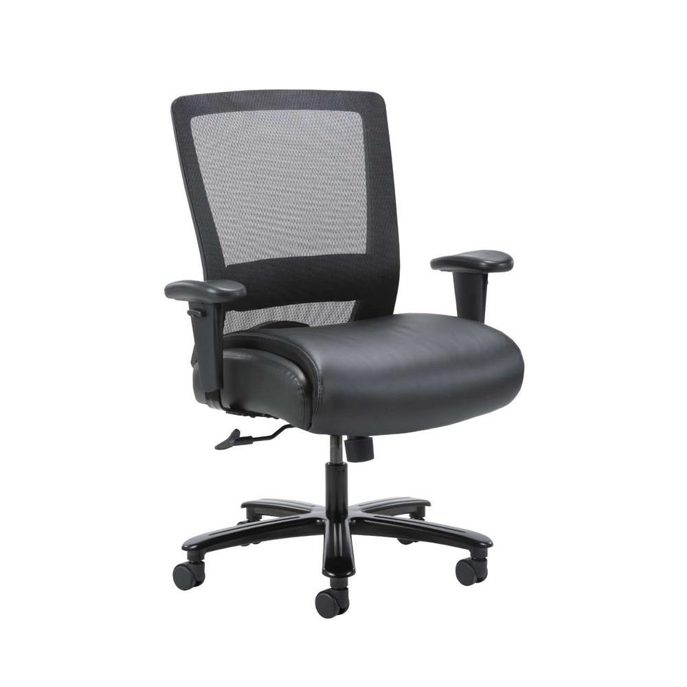 Black Mesh Heavy Duty Task Chair 400 lb. Capacity