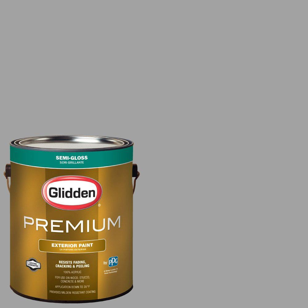 Hdgcn63 Granite Grey Semi Gloss Latex Exterior Paint