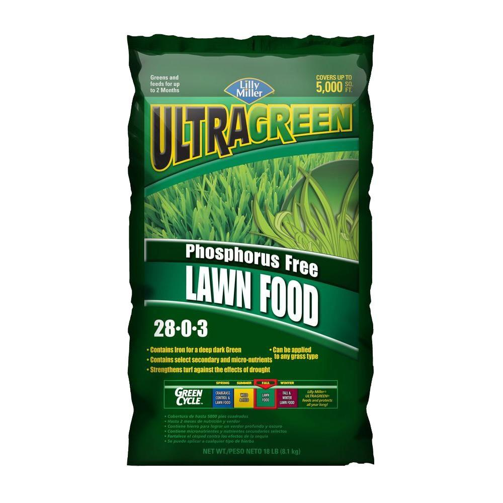 phosphorus free lawn food