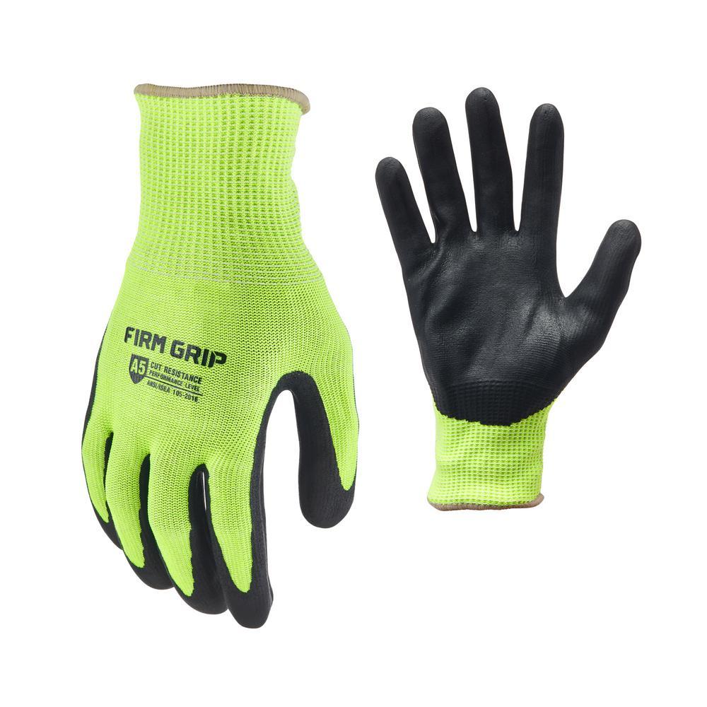 Large ANSI A5 Cut Resistant Gloves