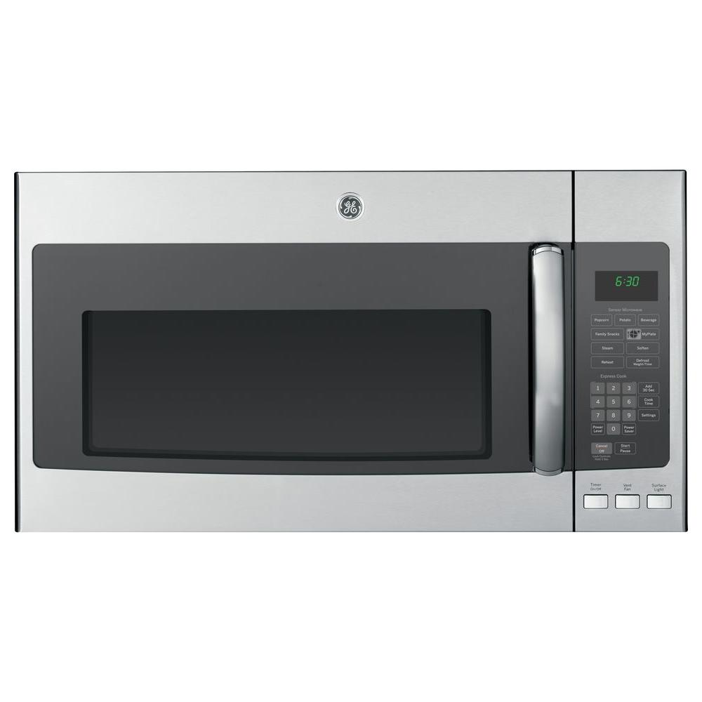 GE Profile 1.9 cu. ft. Over the Range Microwave in Stainless Steel