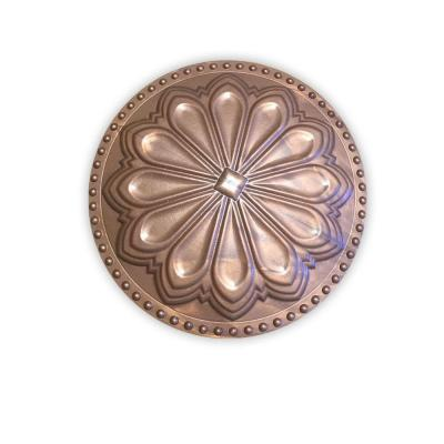 Hermosa Flat Newport Copper 6 in. x 6 in. Cleanout Cover