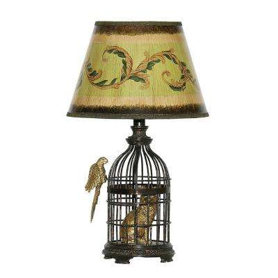 18 in. Bronze Trading Places Table Lamp