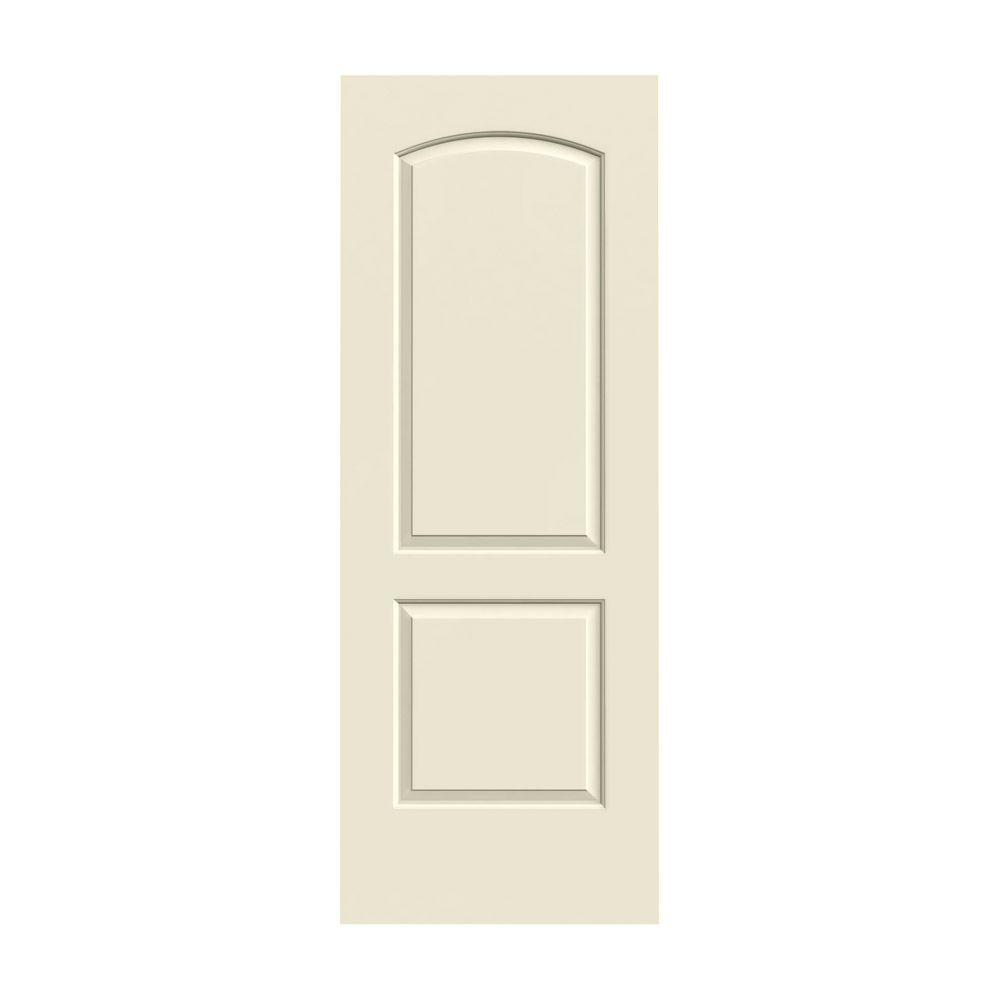 Jeld wen 24 in x 80 in continental primed smooth solid for Solid core mdf interior doors