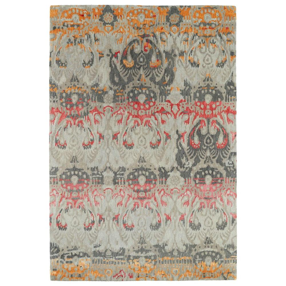 Mercery Fire 8 ft. x 11 ft. Area Rug