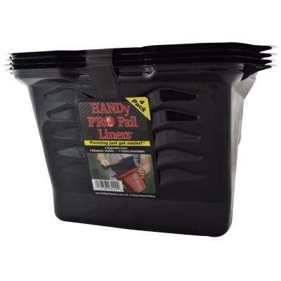 1/2 gal. Plastic Pail Liners (4-Pack)