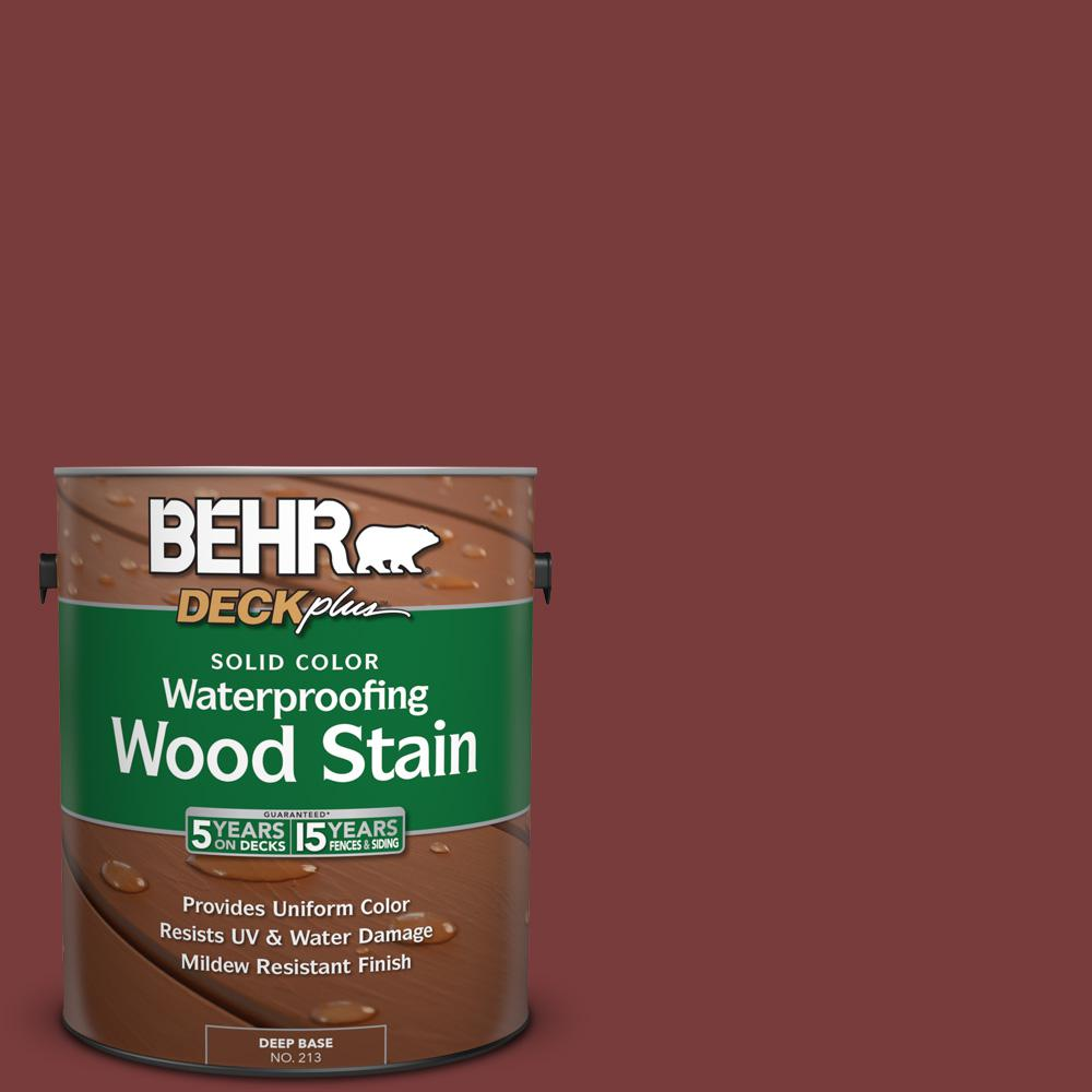 1 gal. #PPU2-19 Royal Liqueur Solid Color Waterproofing Wood Stain