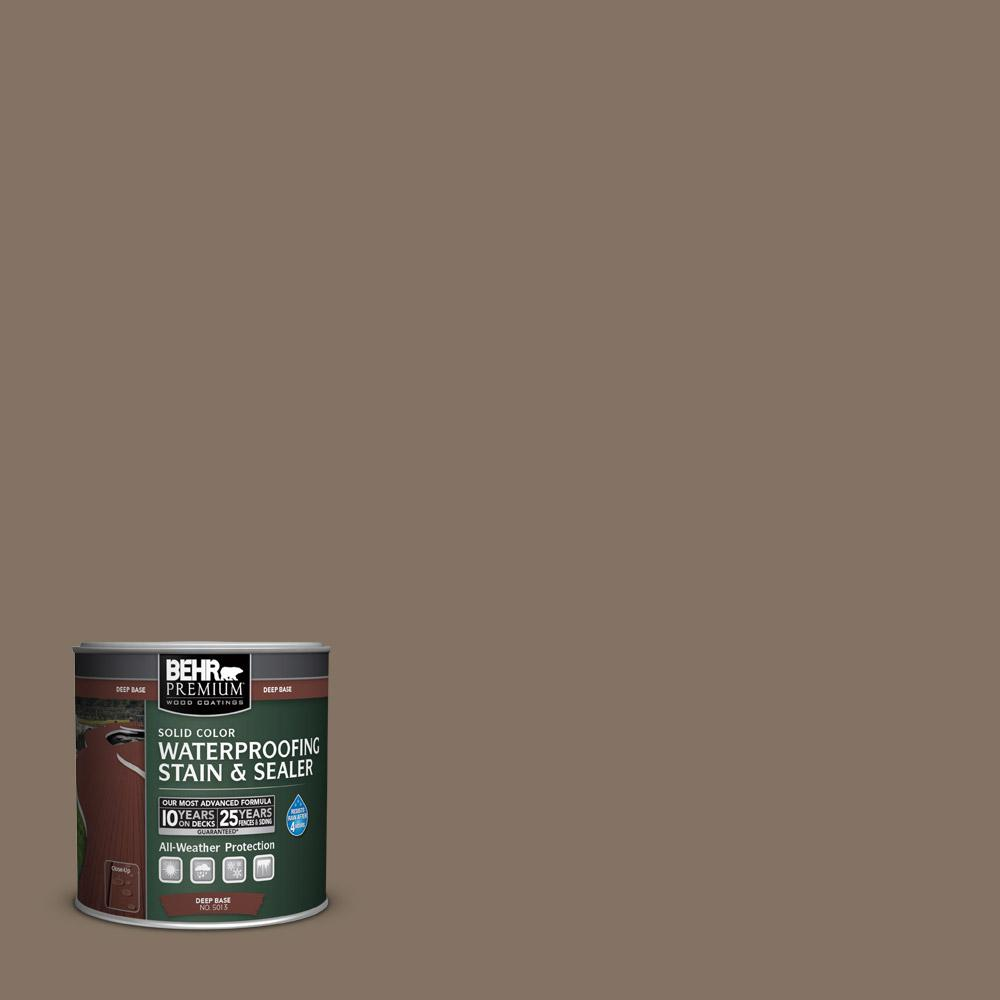 8 oz. #SC-159 Boot Hill Grey Solid Color Waterproofing Exterior Wood