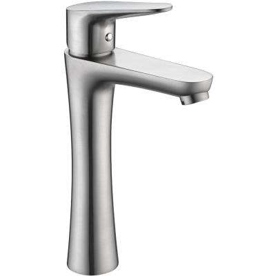 Vivace Single Hole Single-Handle Bathroom Faucet in Brushed Nickel