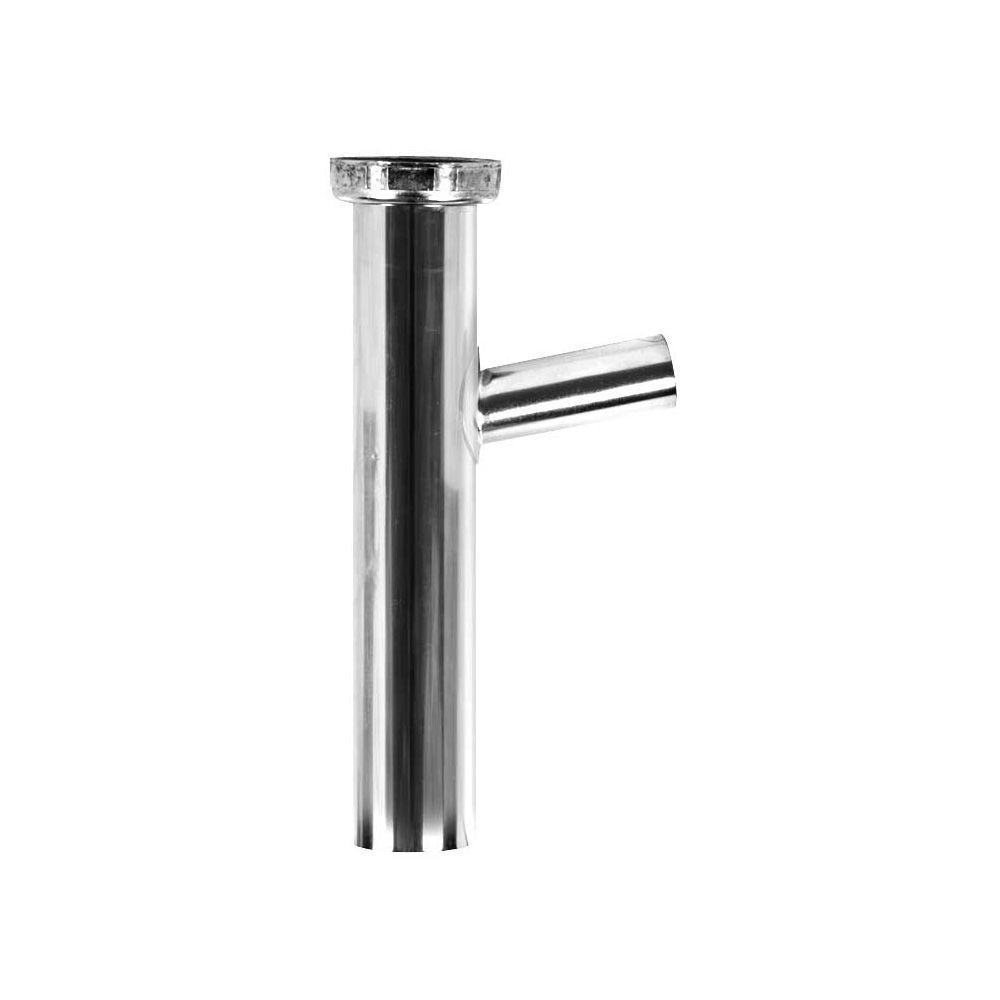 Everbilt 1-1/2 in. x 8 in. Brass Plain-End Dishwasher ...