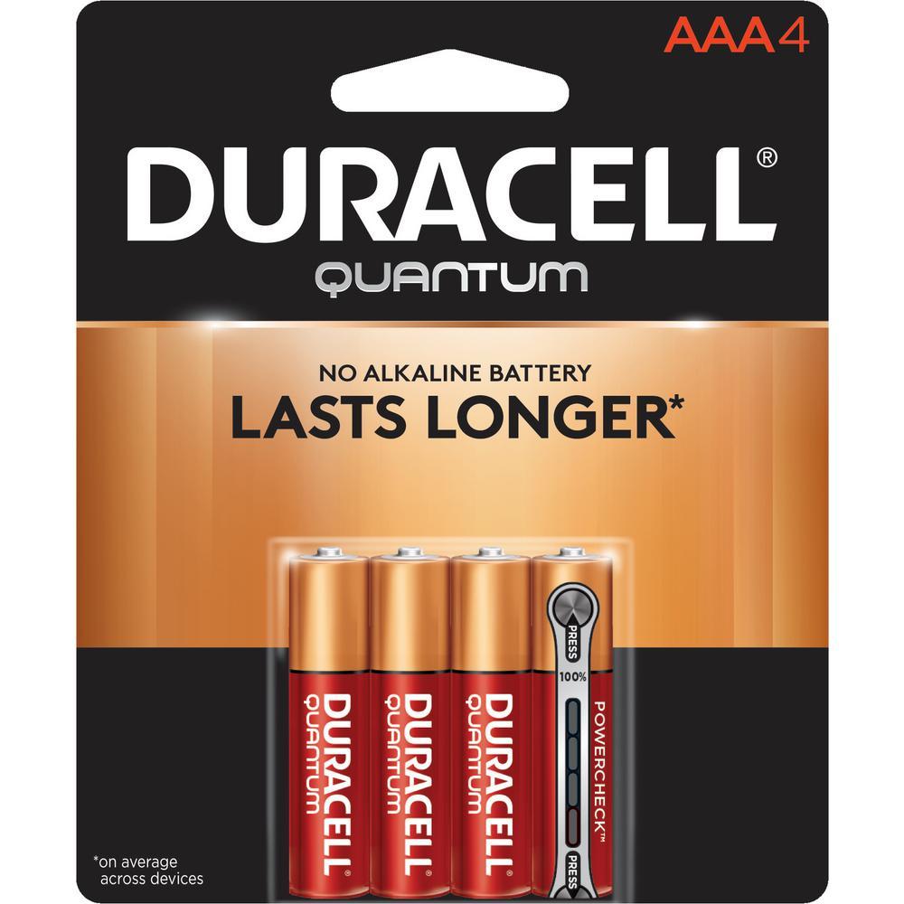 Quantum Alkaline AAA Battery (4-Pack)