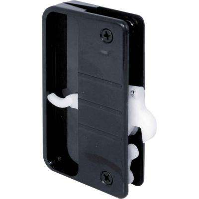 Sliding Screen Door Latch and Pull with Security Lock Function