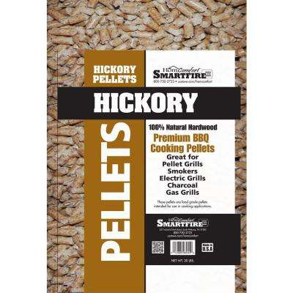 Hickory Wood Pellet for use in Pellet Grills