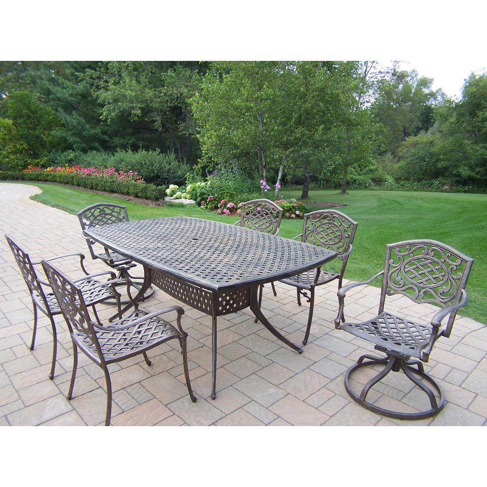 Cast Aluminum - Patio Dining Furniture - Patio Furniture - The ...