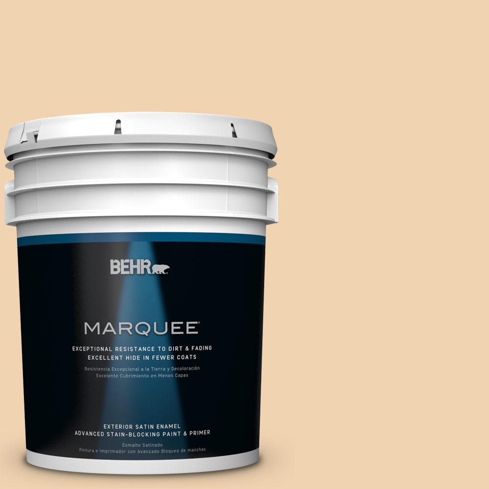 BEHR MARQUEE 5-gal. #M280-3 Champagne Wishes Satin Enamel Exterior Paint