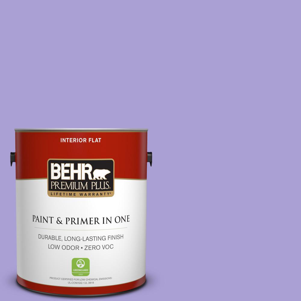 BEHR Premium Plus 1-gal. #P560-4 Magic Wand Flat Interior Paint