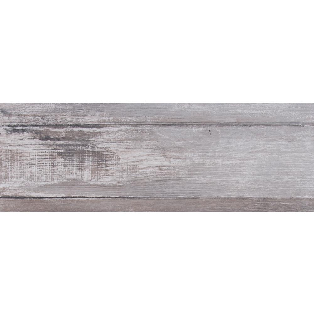 MSI Duttonwood Ash 7 in. x 20 in. Glazed Ceramic Floor and Wall Tile ...