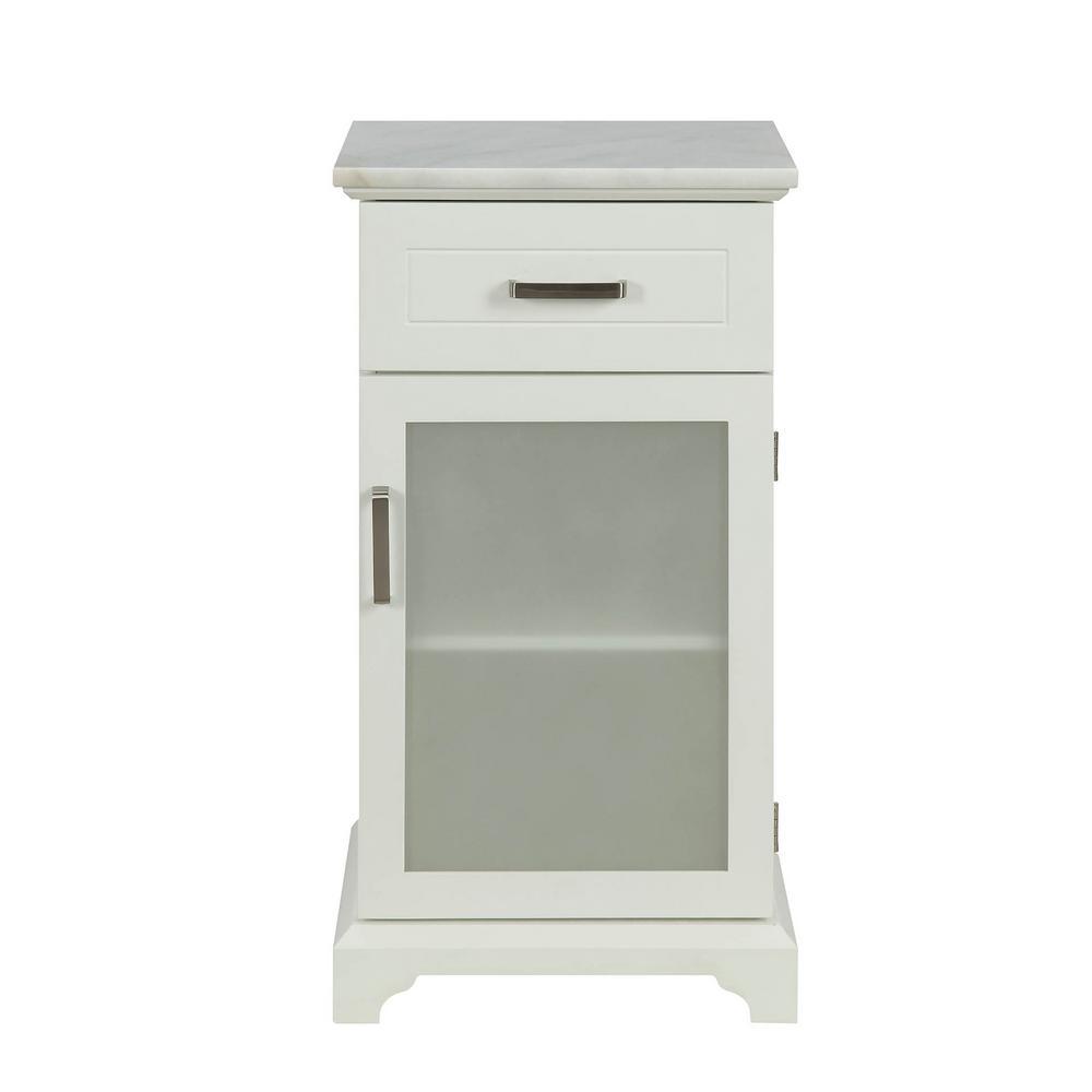 Sakya White Cabinet