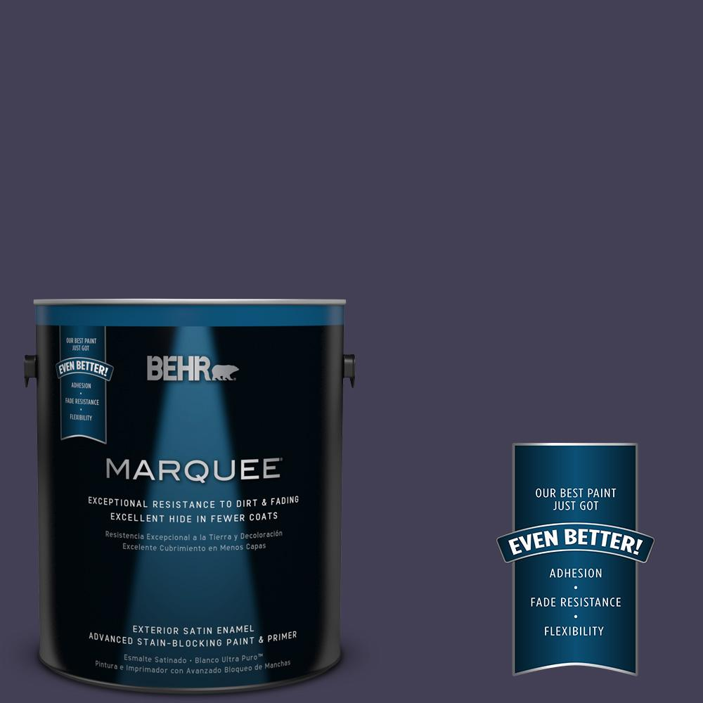 BEHR MARQUEE 1-gal. #MQ5-39 Artistic License Satin Enamel Exterior Paint