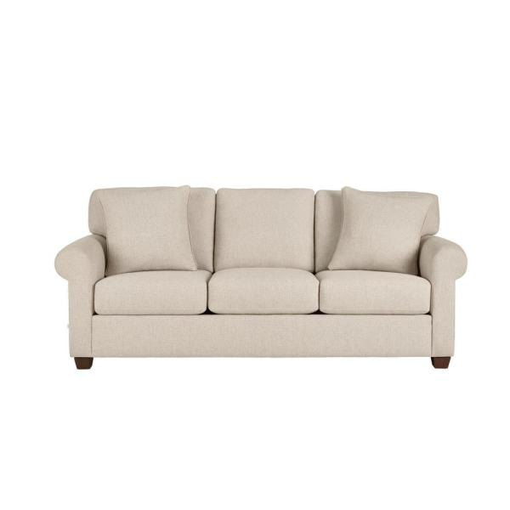 Rockdale Acuff Khaki Straight Standard Sofa (85.5 in. W x 36 in. H)