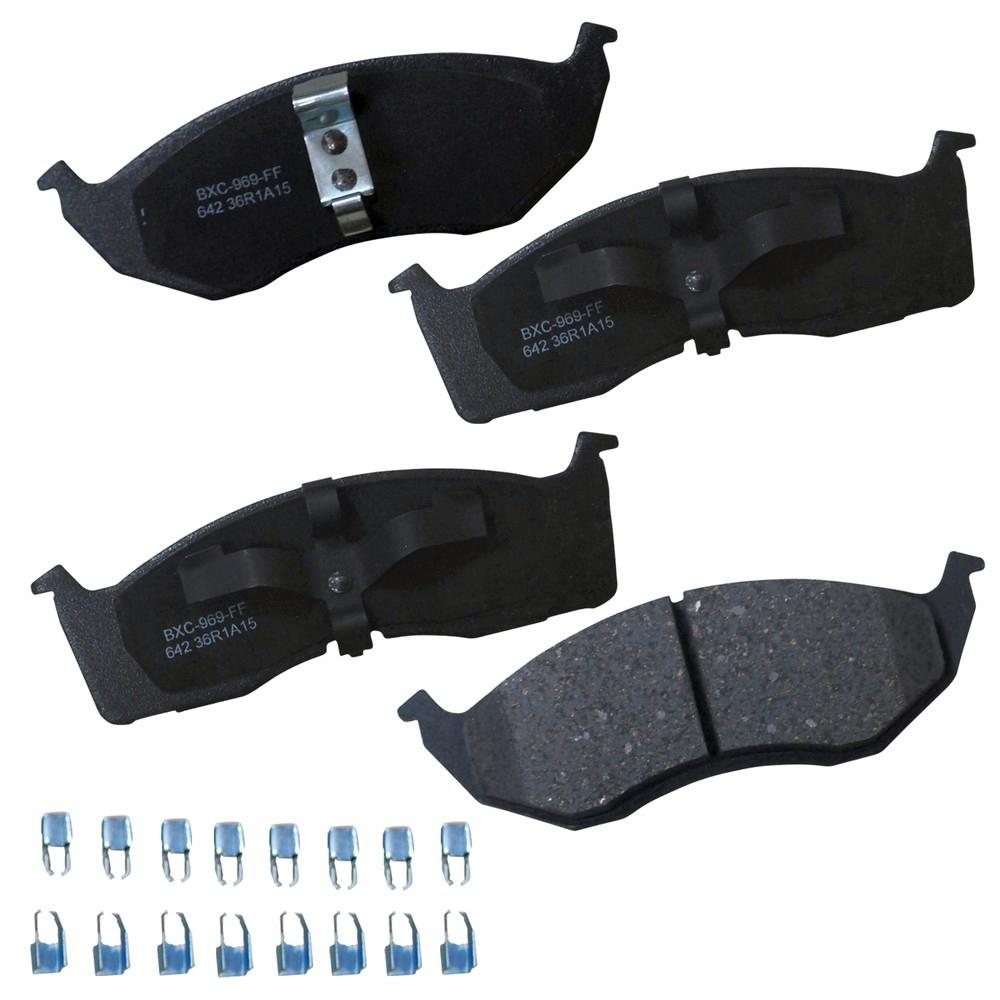 bendix stop ceramic disc brake pad frontsbc642 the