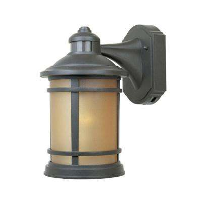 Mesa Collection Wall Mounted Outdoor Oil Rubbed Bronze Lantern