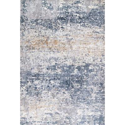 Wilde Tribal Distressed Blue 8 ft. x 10 ft. Area Rug