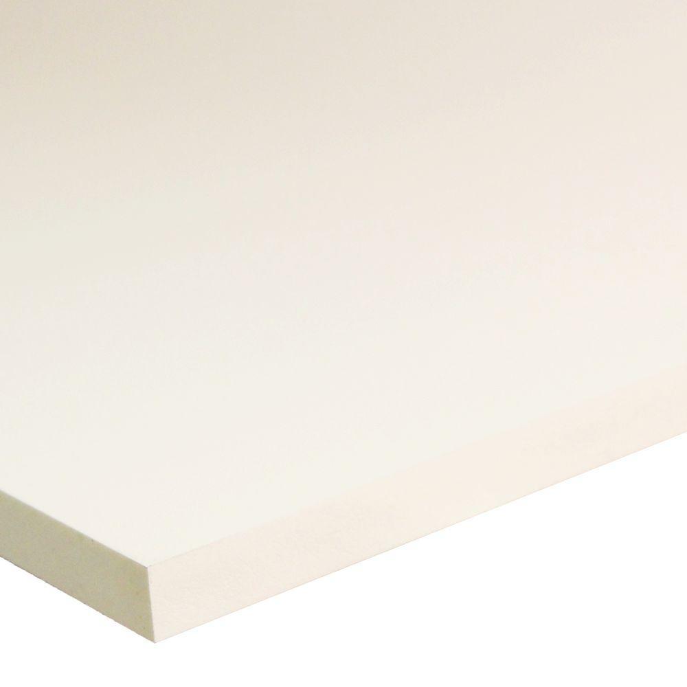 1/2 in. x 48 in. x 96 in. Cellular White PVC Panel