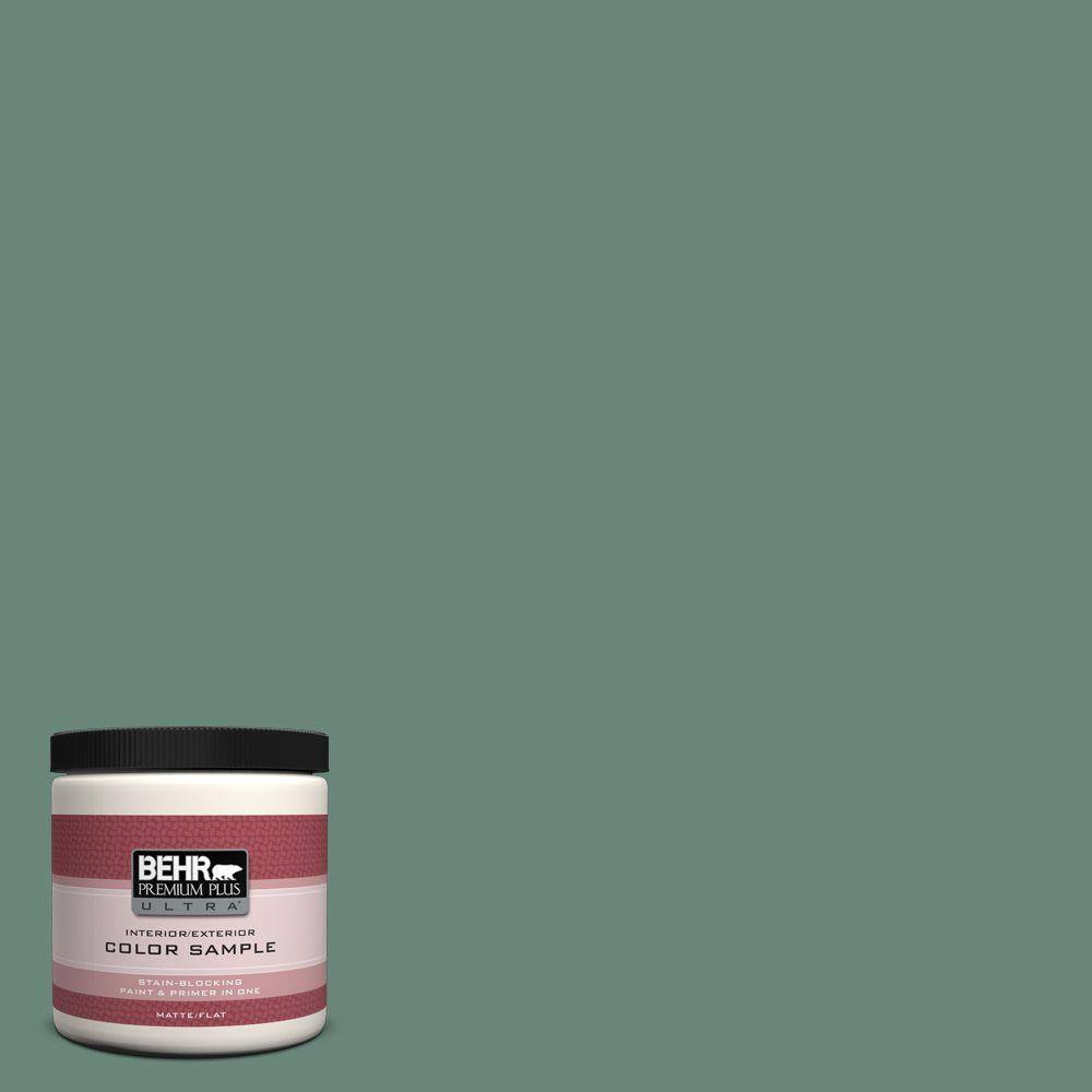 BEHR Premium Plus Ultra 8 oz. #470F-5 Garland Interior/Exterior Paint Sample