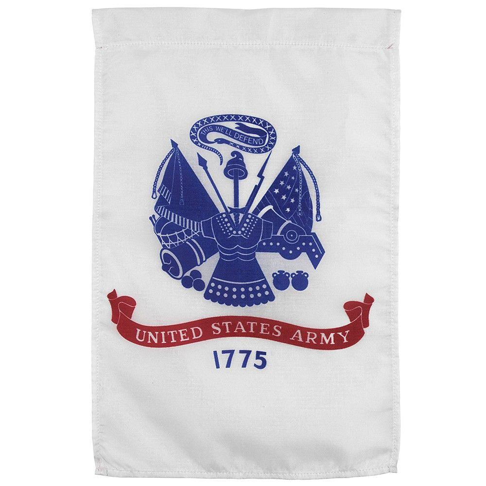 Valley Forge Flag 12 in. x 18 in. Nylon U.S. Army Garden Flag-DISCONTINUED