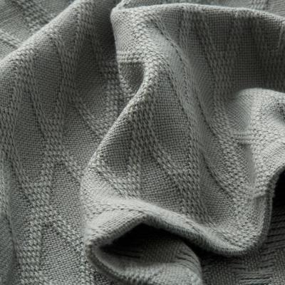 Cotton Bamboo Woven Blanket