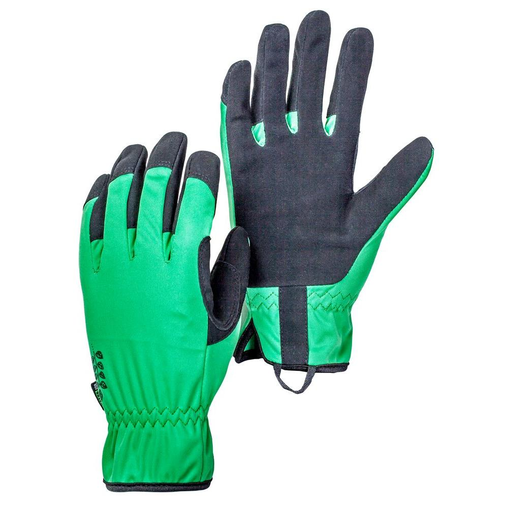 Large Size 9 Green Gardening Gloves